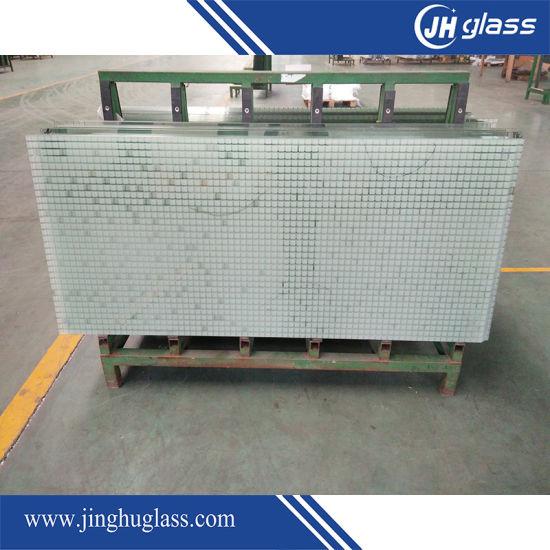 High Quality 3-8mm Thick Silk Printing Glass Price