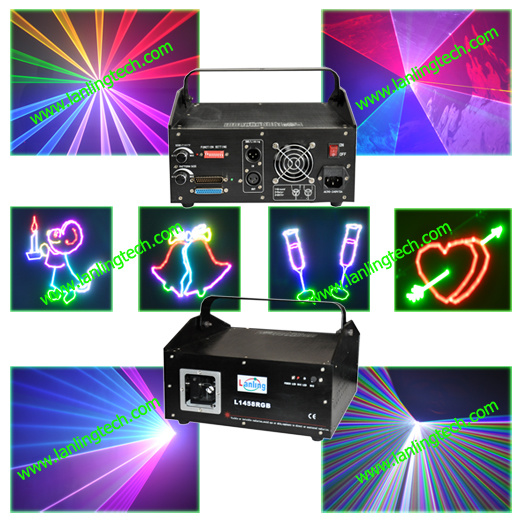 1W RGB Laser Light for DJ Disco Club (L1458RGB)