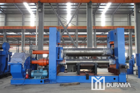 Steel Plate Rolling Machine, Rolling Machine 100mm, Plate Bending Machine with Warranty 3 Years pictures & photos