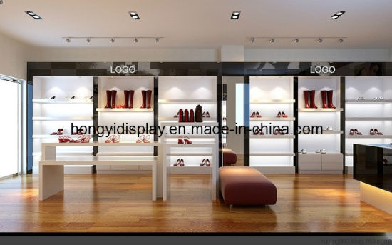 Women Shoes Shopfitting, Shoes Shop Fixture, Display Stand