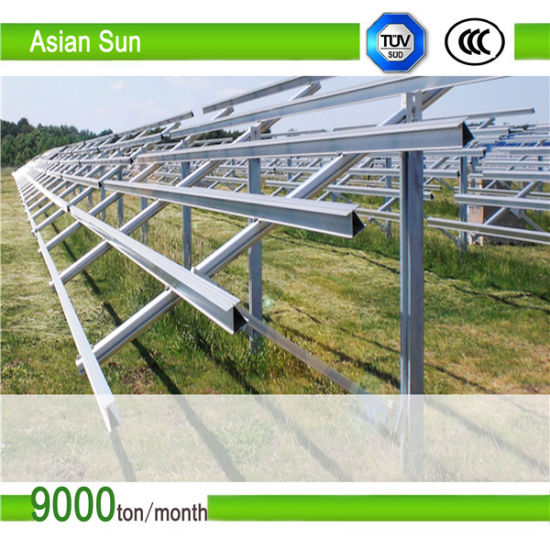 Photovoltaic Panel Price Steel Bracket pictures & photos