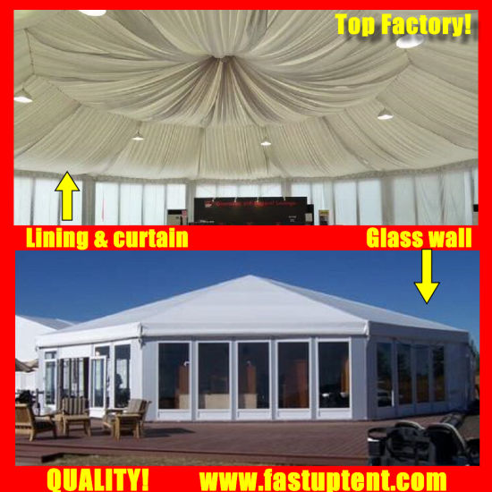 China Fastup Glass Wall Multi Side Marquee Tent for Mecca Hajj