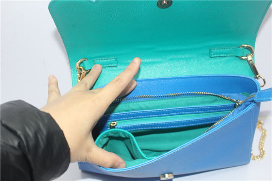 Fashionable Front Scallop Edge Crossbody Bag pictures & photos
