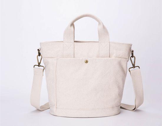 Eco Friendly Fashion Shopping Shoulder Bags Gift Women Handbags Ladies Canvas Tote Bags