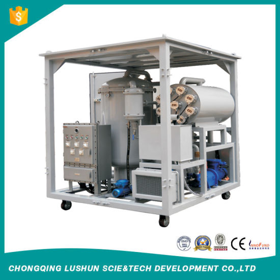 Ls-Zrg-II-200 High Efficiency Vacuum Oil Purification Machine for Massive Water Content Removal