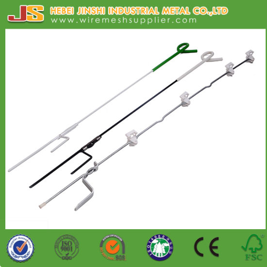 Plastic Insulation Portable Electric Fence Pigtail Post