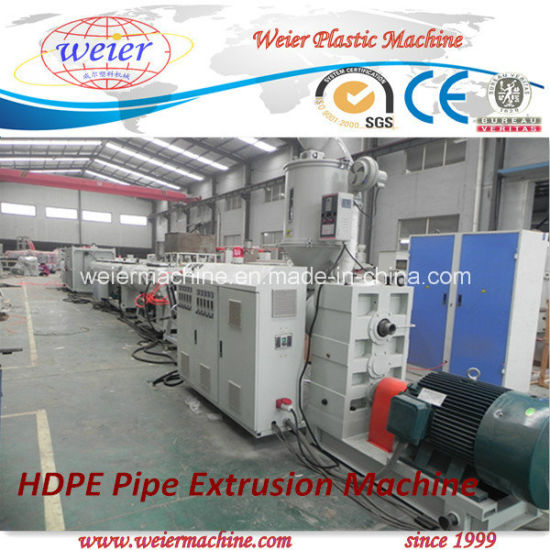 20 - 110 mm PE Water-Supply/Gas Pipe Extrusion Line/Extruder/Production Line