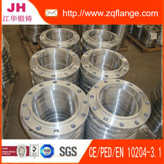 Transparent Paint Carbon Steel ANSI B16.5 150#Slip on Flange pictures & photos