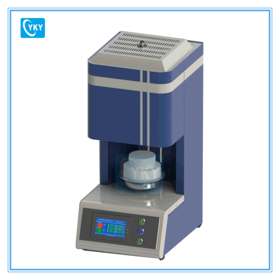 Dental Zirconia Ceramic Sintering Furnace Heated by Mosi2 Rods pictures & photos