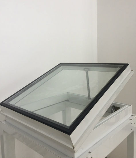 China Electronic Thermal Breaking Aluminum Skylight Roofing China Heat Thermal Insulation Skylight Aluminum Roof Lanterns