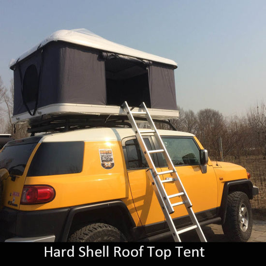 China Fiberglass Camping Hard Shell Car Roof Top Tents for Sale