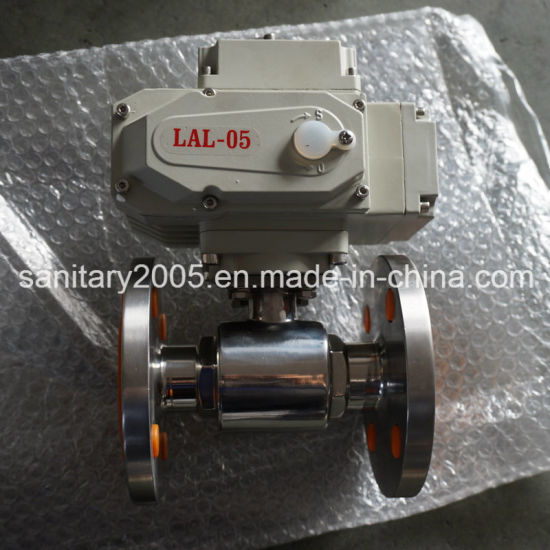 2way Flange Ball Valve with Electric Actuator