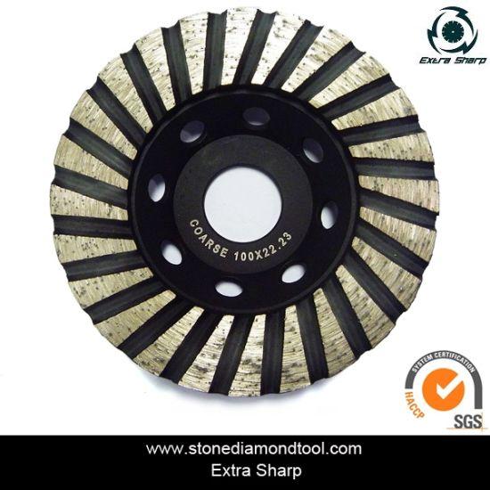 Diamond Granite Turbo Grinding Cup Wheel