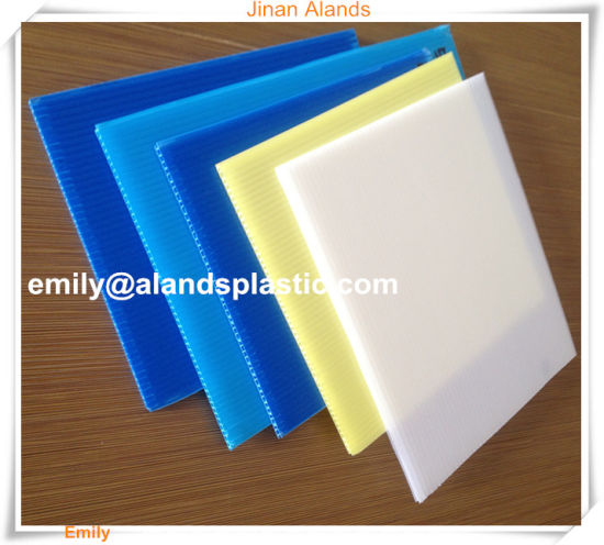 Plastic Polypropylene PP Hollow Board, Coroplast pictures & photos