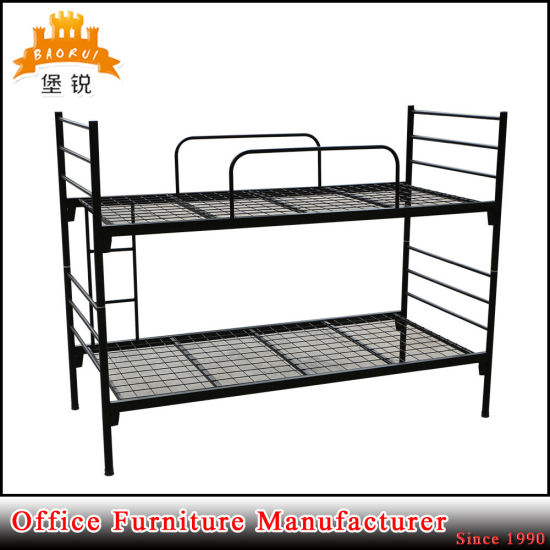 Military Wholesale Cheap Hostel Adjustable Army Double Iron Bunk Bed pictures & photos