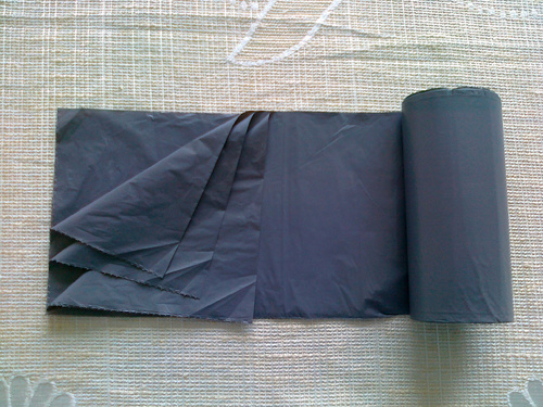 HDPE Plain Star Sealed Plastic Roll Bag pictures & photos