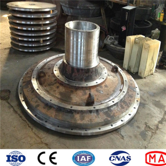 Ball Mill Parts of Casting Steel Mill Cover, End Cover
