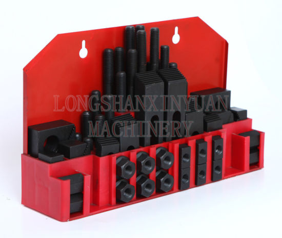"3/8""-16-9/16"" Deluxe Steel High Hardness 58PCS Clamping Kit pictures & photos"