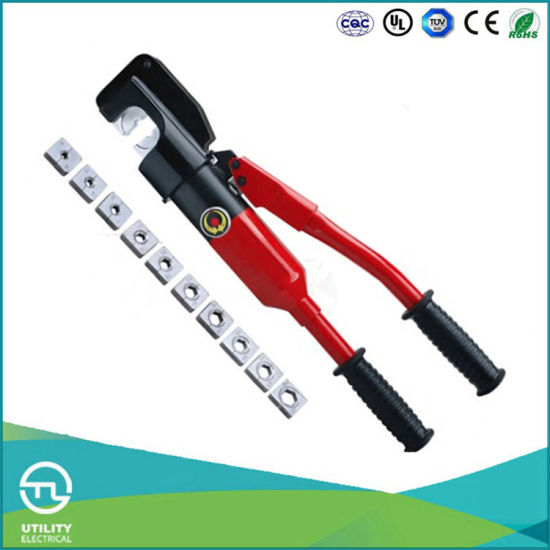 Utl Hydraulic Cable and A/C Hose Crimping Tool Pliers