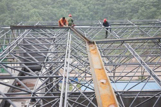 Steel Structure, Prefabricated Steel Structure Building (SSW-460)