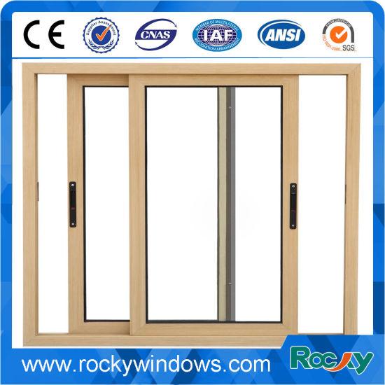 China Thermal Break Aluminium Frame Sliding Glass Window - China ...