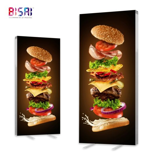 Outdoor Display Advertising LED Light Box PVC Fabric Canvas Backlit Banner for Light Box Billboard