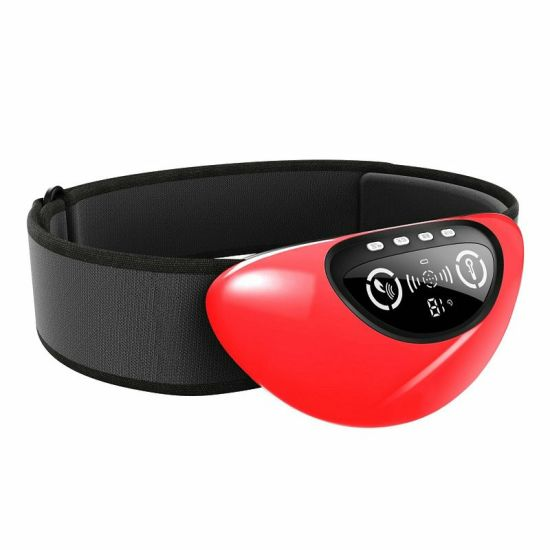 Abdomen Massager with Heat, Air Compression with Red Light for Women Waist Use Wireless Design