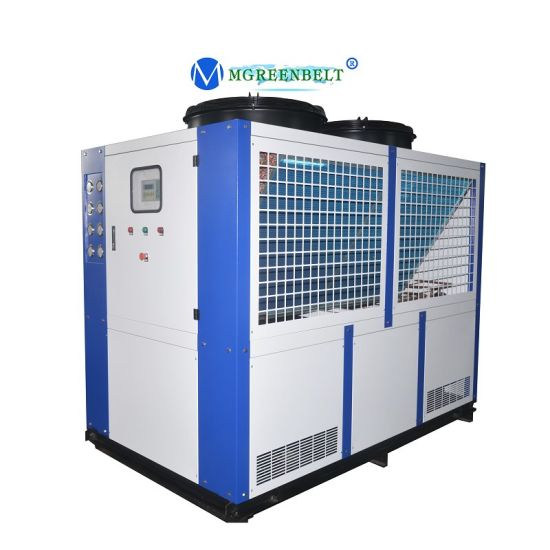 Industrial Process Cooled 100kw 30tons 40HP Refrigeration Air Cooled Water Chiller