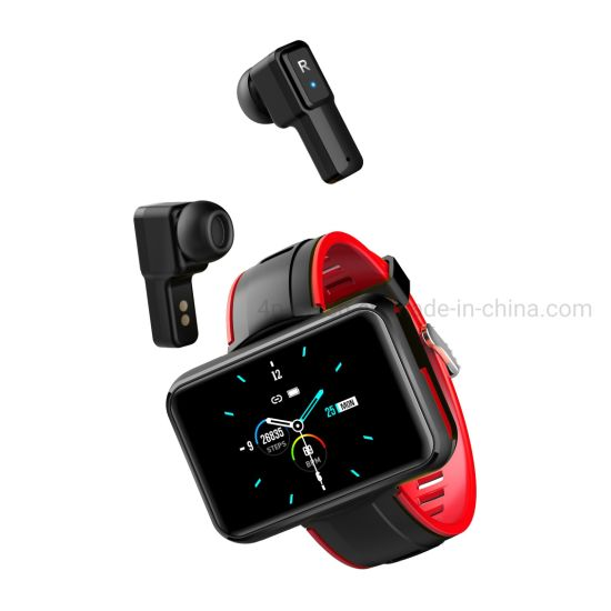IP67 Waterproof Heart Rate Monitoring 5.0 Bt Call Smart Bluetooth Bracelet with Sports Monitoring T91