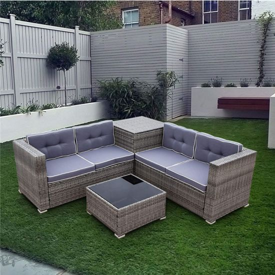 Manufactory Wholesale Outdoor Sofa Set Furniture Rattan Patio Furniture Set Outdoor Rattan