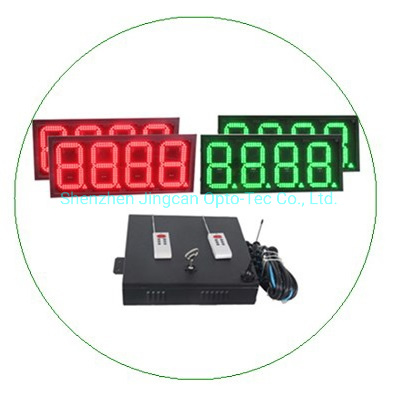 888.8 4 Digital Outdoor Gas Station LED Price Sign Display