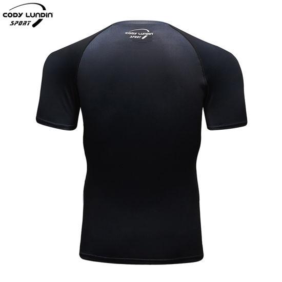 Hot Sale High Quality Men Clothing Customized MMA Printing Shirts