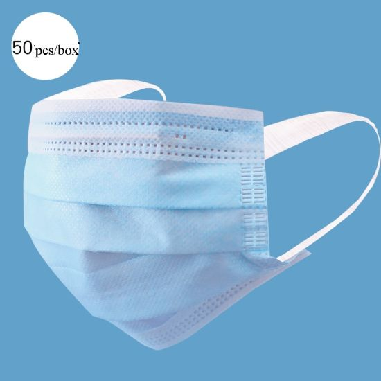 3ply Non Woven Disposable Face Mask with Certificate
