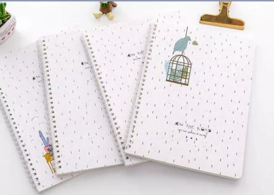 Customized Hard Cover Spiral Notebook for Promotion