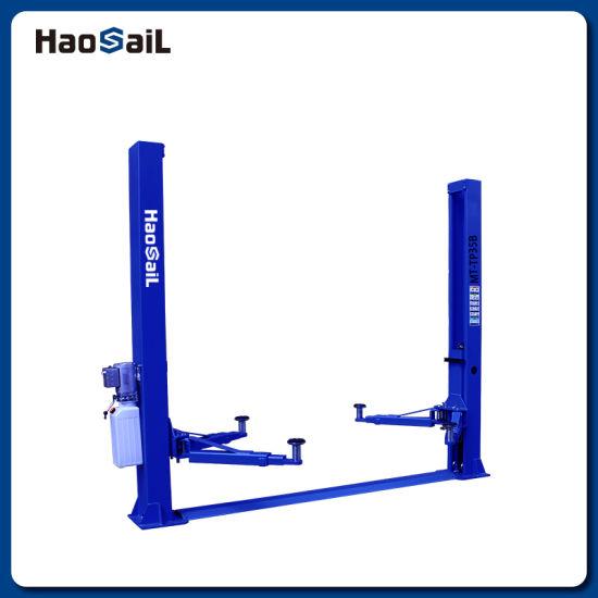 Car Hydraulic Lift Automotive 2 Post Base Plate Hoist Lift