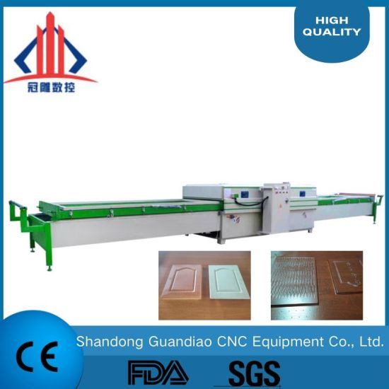 TM2480c-2 Vacuum Membrane Press Machine Hot Press Laminating Machine Woodworking CNC Router/CNC Machinery for 3D Door PVC MDF Covering with Ce