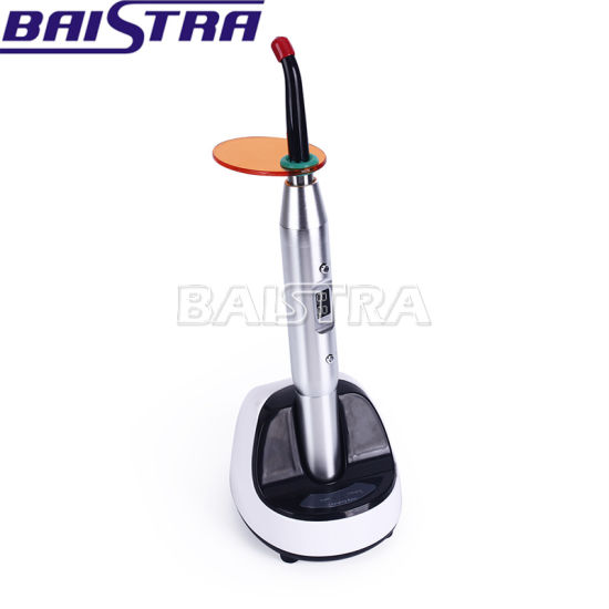 High Performance Silver Color Rechargeable Dental LED Curing Light pictures & photos