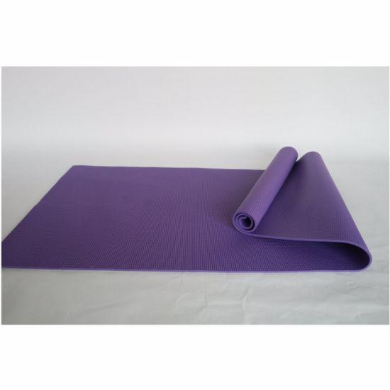 Custom Logo PVC Anti Slip Fitness Top Quality Yoga Mat
