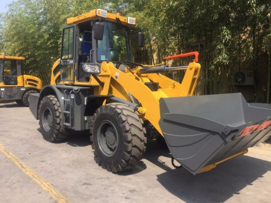 Caise Ce Approved EPA Option Diesel 4WD Shovel Wheel Loader pictures & photos