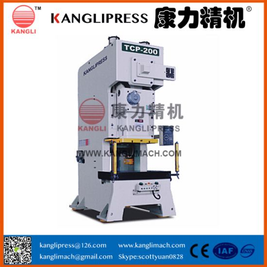 TCP 160t C Frame Single Crank Mechanical Power Press Punching Machine