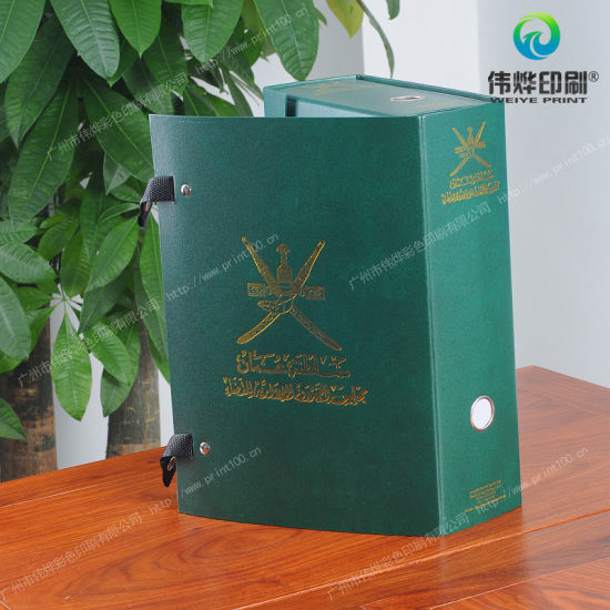 Customized Hot Stamping Printing Fancy Paper / PVC Packaging Gift Box pictures & photos