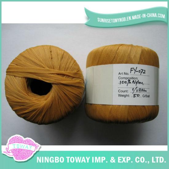 Eco-Friendly Light Appearance Polyester Baby Wool Fancy Yarn (FY-072)