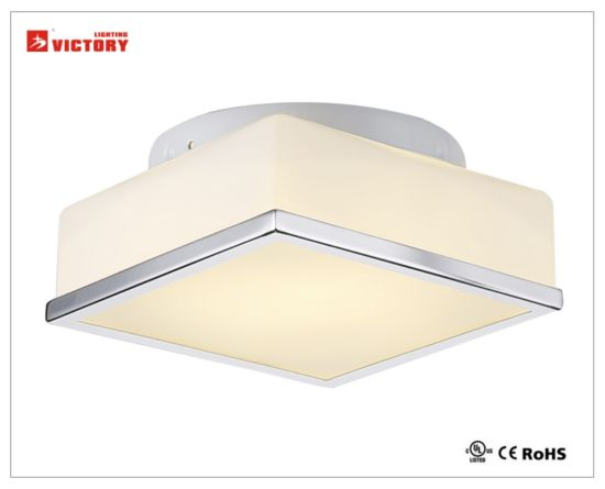 Indoor Modern Square Glass LED Ceiling Lamp 8W pictures & photos