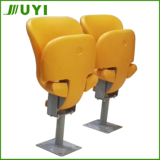 Blm-4827 Cute Outdoor Football Gym Seating Plastic Stadium Folding Chairs