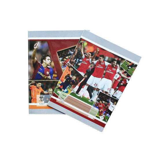 High Quality Soccer Star Softcover Exercise Book for School