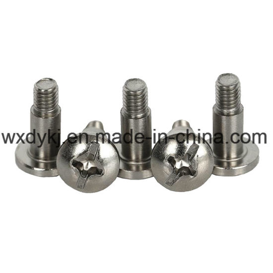 DIN 923 Mushroom Head Stainless Steel Shoulder Screw pictures & photos