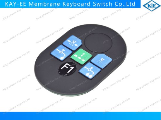 Hard Silicone Touch Keys with PCBA and Metal Dome pictures & photos