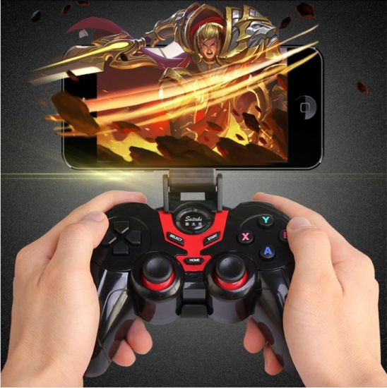 China Wireless Joystick Game Controller for Smart TV and Vr