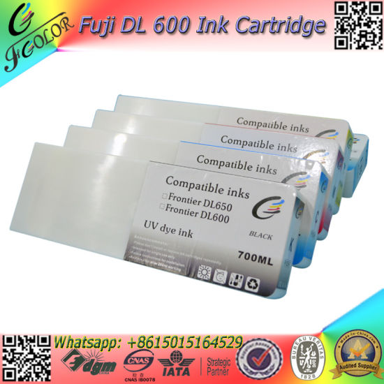 2017 New Fujifilm Dl600 Ink Cartridges 700ml Set 5 Color Dl-600 Inks pictures & photos