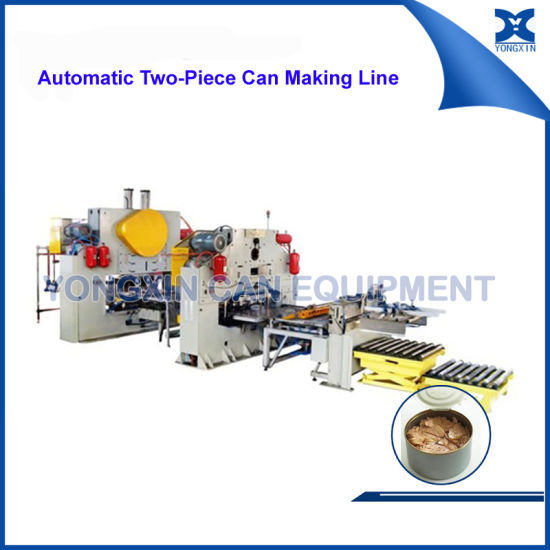 Complete Round Food Meat Can Making Produciton Line pictures & photos
